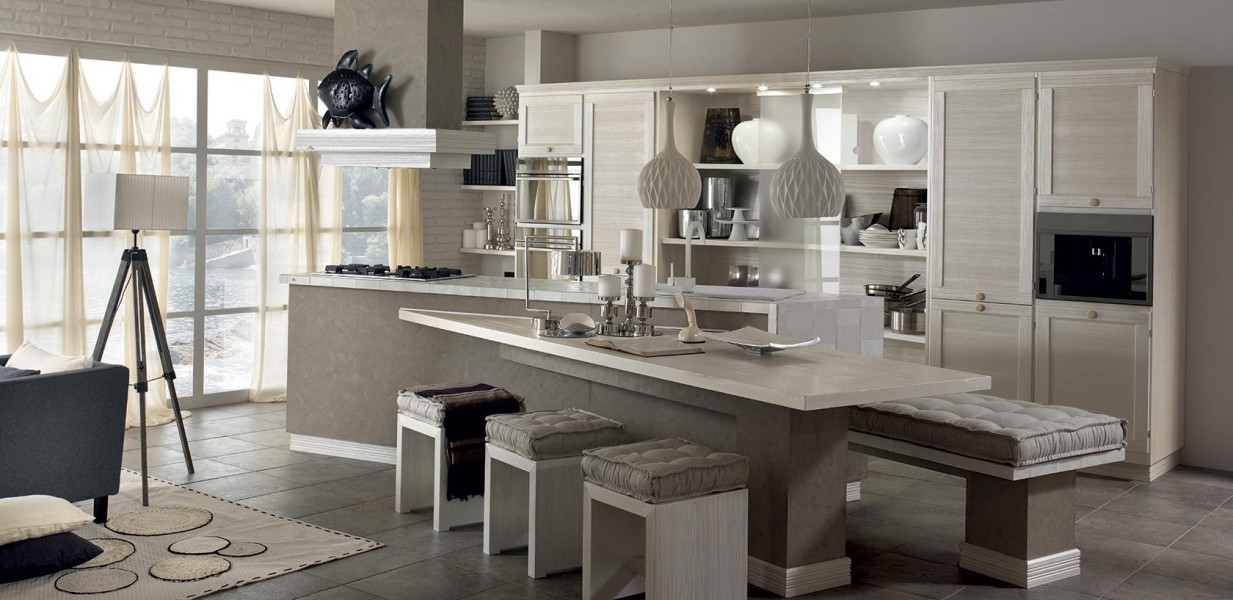 Ds ambienti for Cucine in muratura country